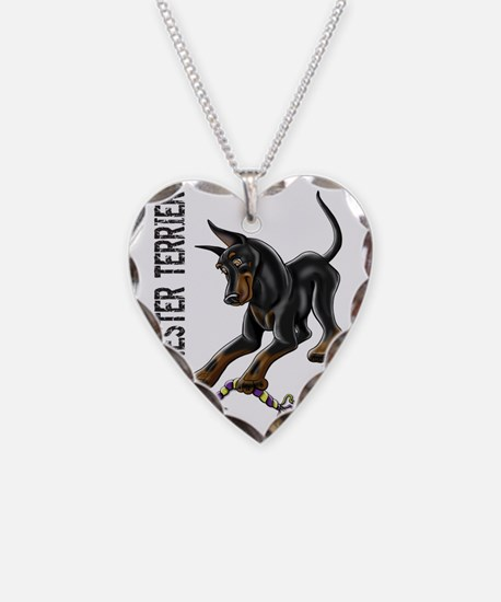 Manchester Terrier - Cropped Necklace