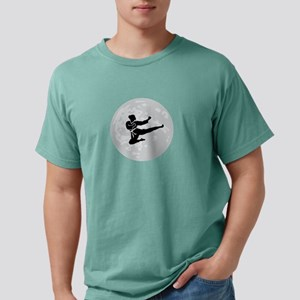 Flying Kick Mens Comfort Colors Shirt