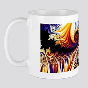 swirls - smallframedprint Mug