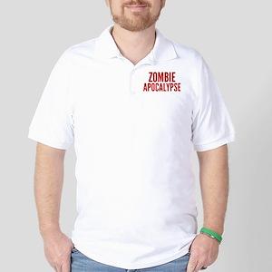 ZombieApHard1E Golf Shirt