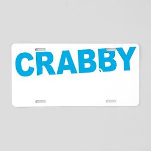 Crabby Pants Aluminum License Plate