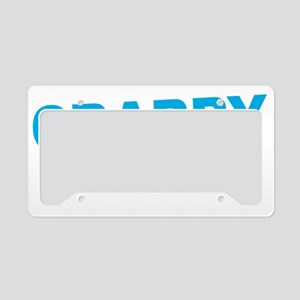Crabby Pants License Plate Holder