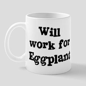 Will work for Eggplant Mug