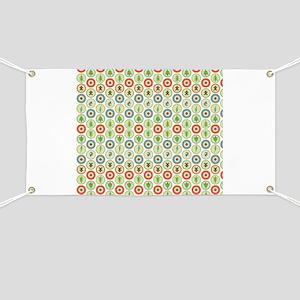 Christmas Circles Banner