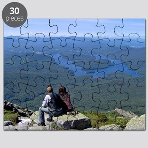 View of Lake Placid Puzzle