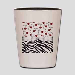 Ladybug Wild Side Shot Glass