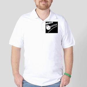 Beast Obsessed Black Golf Shirt