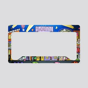 Design #32 SOuth Beach Miami  License Plate Holder