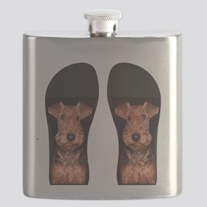 airedale flip flops Flask