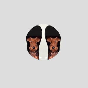 airedale flip flops Mini Button