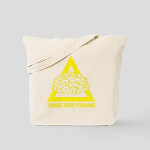 ZombieFoodPyramid1E Tote Bag