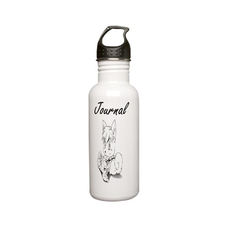 dog Stainless Water Bottle 0.6L