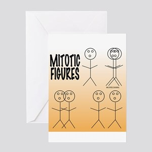 Mitotic Figures Greeting Cards