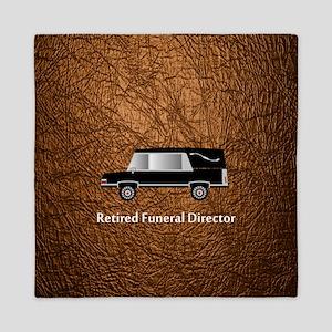 retired funeral director wallet 3 Queen Duvet