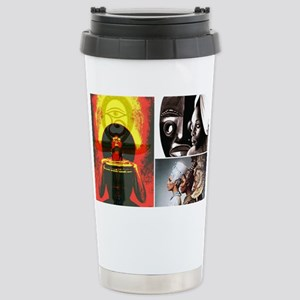 Strong African Women Stainless Steel Travel Mug