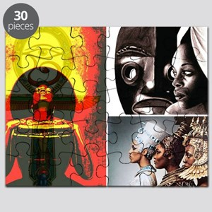 African Goddess Puzzle