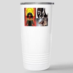 African Goddess Stainless Steel Travel Mug