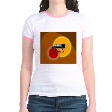 mortician abstract Jr. Ringer T-Shirt