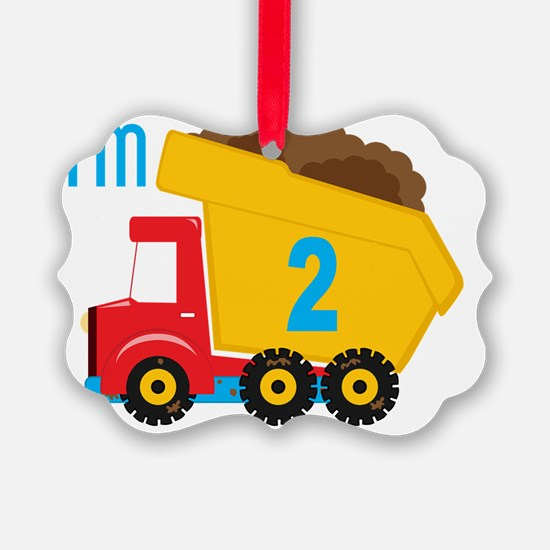 Dump Truck Im 2 Ornament