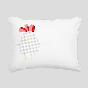 I Am Not A Nugget Rectangular Canvas Pillow
