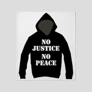 No Justice, No Peace Throw Blanket