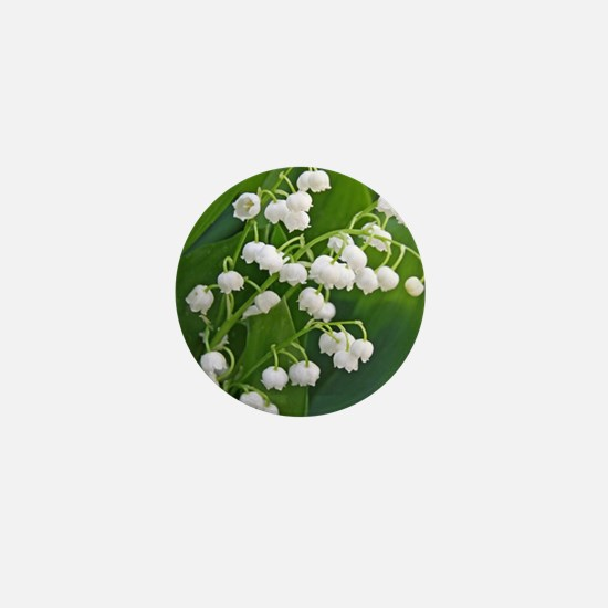 Lily of the Valley Mini Button