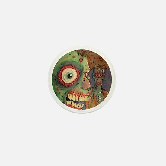 apocalyptic circle Mini Button