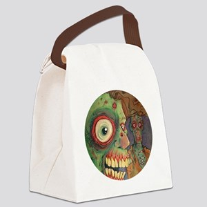apocalyptic circle Canvas Lunch Bag