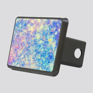 Watercolor Paisley Rectangular Hitch Cover