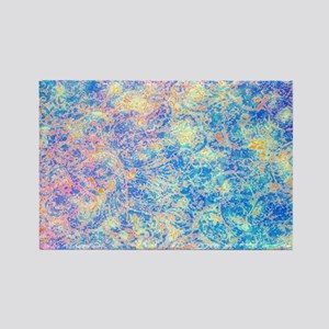 Watercolor Paisley Rectangle Magnet