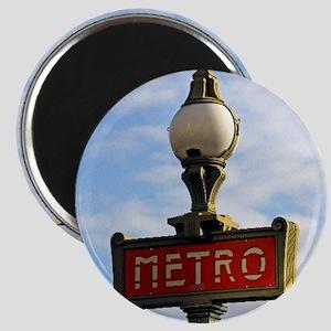 Paris Metro Magnet