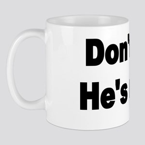 DONT LAUGH Mug