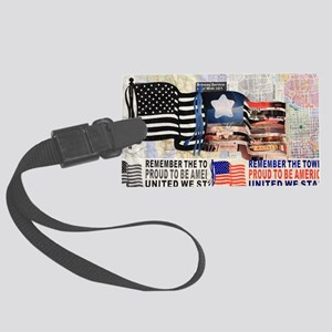 Remember 911 Large Luggage Tag