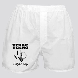 Texas Oilfield Wife  Boxer Shorts