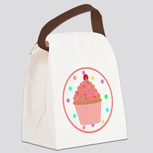 Sweet As A Cupcake Canvas Lunch Bag