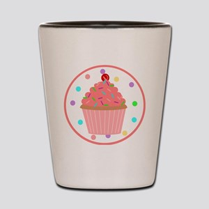 Sweet As A Cupcake Shot Glass