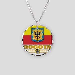 Jewelry. Bogota Pride Necklace Circle Charm