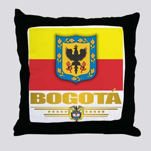 Bogota Pride Throw Pillow