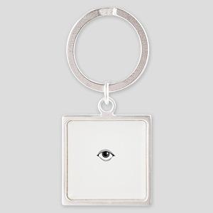 Dont Spy Me Bro Square Keychain