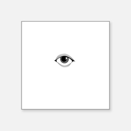 "Dont Spy Me Bro Square Sticker 3"" x 3"""