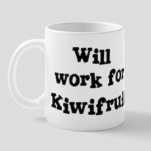 Will work for Kiwifruit Mug
