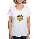 Zion Lion Women's V-Neck T-Shirt