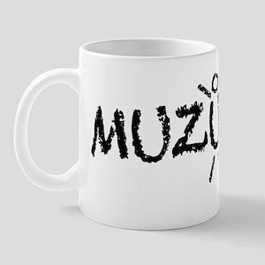muzungu chalk Mug