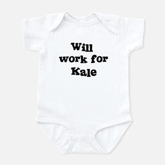Will work for Kale Infant Bodysuit