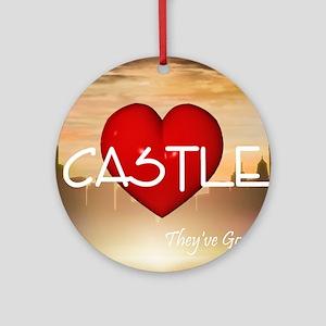 castle1c Round Ornament