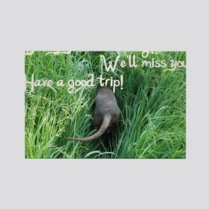 going away wishes Rectangle Magnet