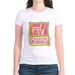 Foxy Grandma Jr. Ringer T-Shirt