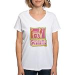 Foxy Grandma Women's V-Neck T-Shirt