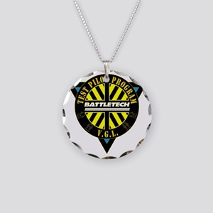 VGLTPLogo Necklace Circle Charm