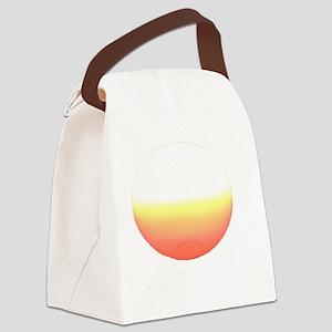 Sun Back Canvas Lunch Bag